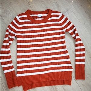 2 for $10 / Old Navy soft rust stripe sweater